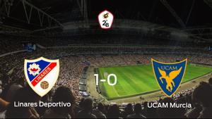 El Linares Deportivo gana en casa al UCAM Murcia por 1-0