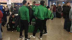 El Deportivo Liceo se quedó anclado en La Coruña