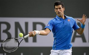 Novak Djokovic, en Indian Wells