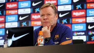 Koeman no quiere volver a hablar de su futuro en el banquillo del Barça
