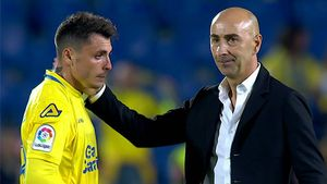 LALIGA   UD Las Palmas - Levante (0-2): Pitada final