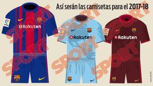 Las nuevas camisetas 2016-2017