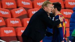 Koeman asegura que Messi está contento y preparado