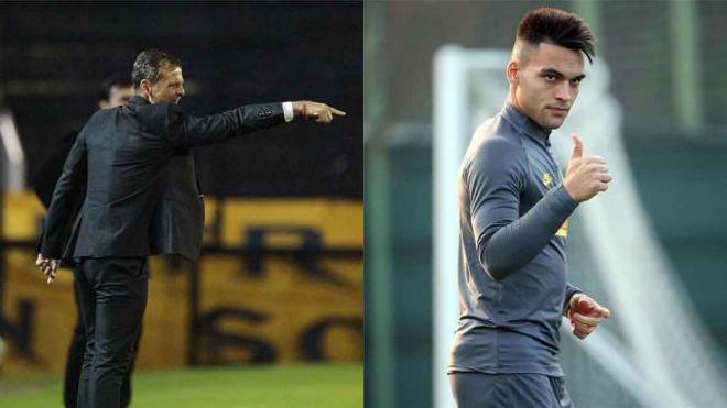 Diego Cocca aconseja a Lautaro fichar por el FC Barcelona