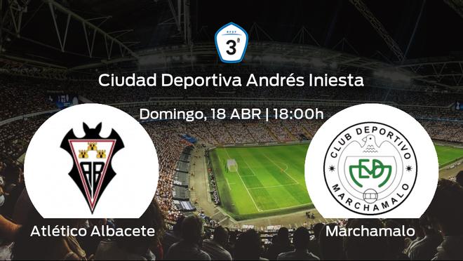 Jornada 3 de la Segunda Fase de Tercera División: previa del duelo Atlético Albacete - Marchamalo