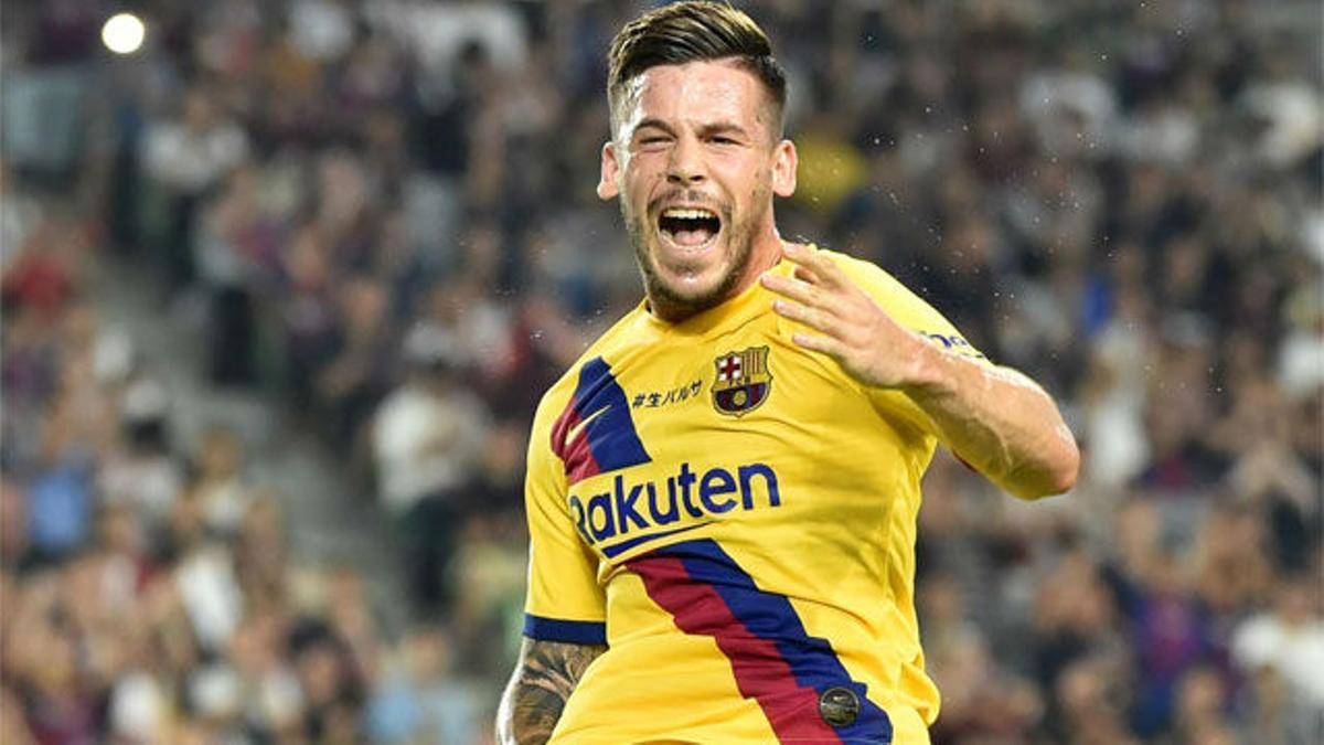 Carles Pérez dio la Rakuten Cup al Barça con un doblete