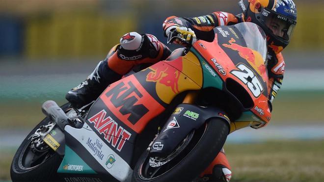 Raúl Fernández, uno de los favoritos en Moto2