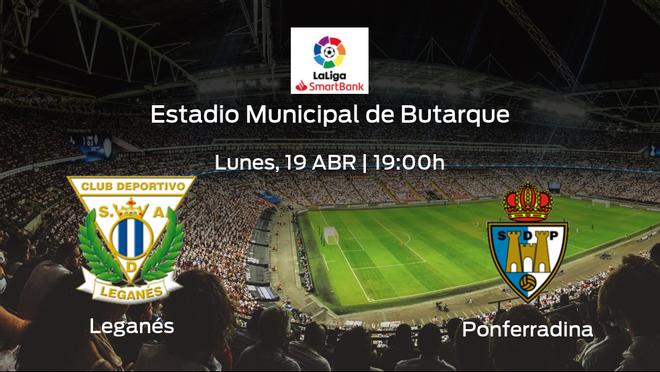 Previa del encuentro: el Leganés recibe a la SD Ponferradina en la trigésimo quinta jornada