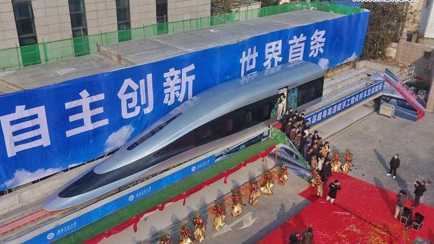 Así es el nuevo tren maglev capaz de alcanzar los 620 km/h