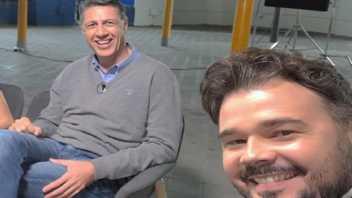 Rufián recupera un tuit comprometido de Albiol publicado en 2015