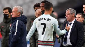 Santos: Cristiano se encuentra bien, dice que quiere jugar