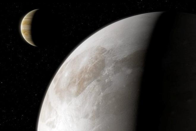 La atmósfera de Ganímedes contiene agua, potencial indicio de vida