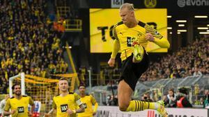 Haaland vuelve con doblete ante el Mainz