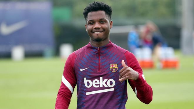 Ansu Fati returns to Barça training with September return date lined up