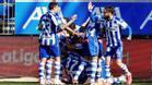 El Alavés consigue una victoria muy importante ante el Huesca