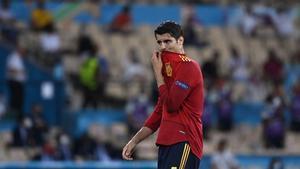 Morata: Agradezco a Luis Enrique la confianza, lo daré todo