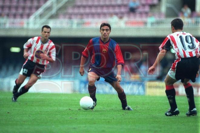 23.Xavi Hernández 1998