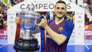 Dyego lideró a un excelente Barça Lassa tras el descanso