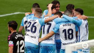 El Málaga se llevó los tres puntos ante el Sabadell