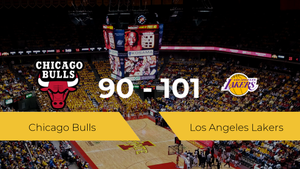 Los Angeles Lakers se queda con la victoria frente a Chicago Bulls por 90-101