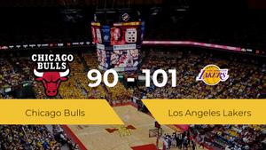 Los Angeles Lakers se queda con la victoria frente a Chicago Bulls por 90-101