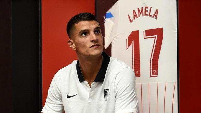 Erik Lamela: El Sevilla es un club enorme