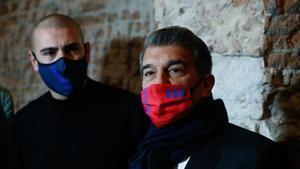 Laporta presentó su proyecto en el Barça