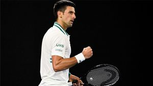 Djokovic final australia