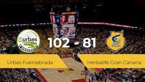 El Urbas Fuenlabrada logra ganar al Herbalife Gran Canaria (102-81)