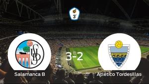 Los tres puntos se quedan en casa: Salamanca CF B 3-2 Atlético Tordesillas