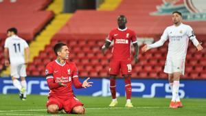 El Liverpool fue un quiero y no puedo y el Madrid está en semifinales: el resumen del partido