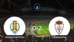 El RCarabanchel derrota 0-2 al Atlético de Pinto y se lleva los tres puntos