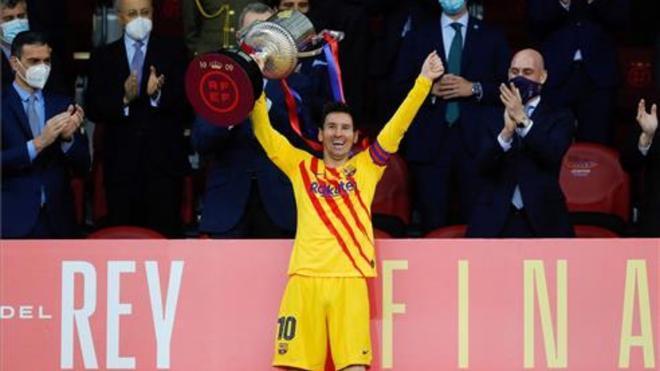 El FC Barcelona es el campeón de la Copa del Rey