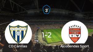 El Alcobendas Sport gana en el Municipal de Canillas al Canillas (1-2)
