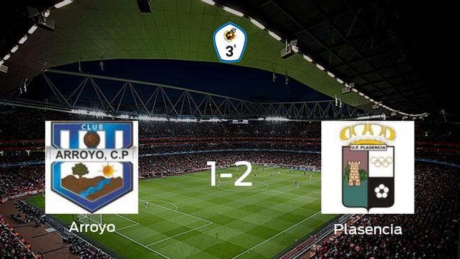 El Plasencia se impone al Arroyo y consigue los tres puntos (1-2)
