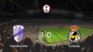El Tamaraceite logra los tres puntos frente al Linense (1-0)