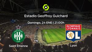 Jornada 21 de la Ligue 1: previa del encuentro AS Saint Etienne - Olympique Lyon