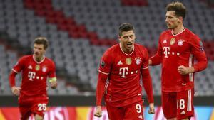 El Bayern de Múnich, actuales campeones del torneo, continúan invictos en esta edición