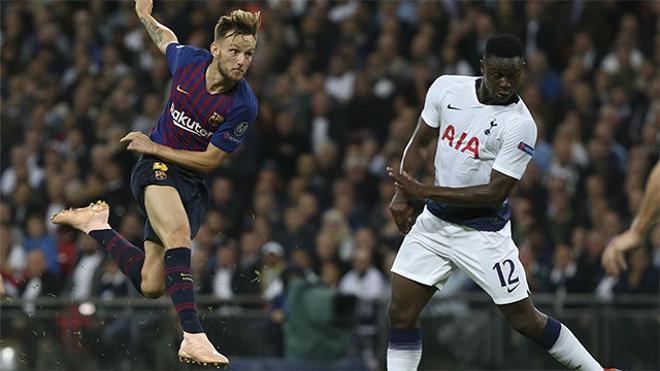 El gol de Rakitic ante el Tottenham, elegido mejor gol de la fase de grupos de la Champions