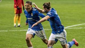 El resumen de la victoria del Oviedo al Zaragoza