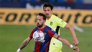 El resumen del empate entre el Atlético de Madrid y el Levante