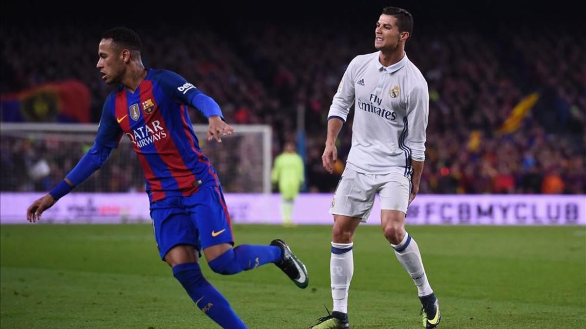 Cristiano Ronaldo y Neymar se verán las caras en la Champions