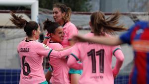 El Barça refuerza el liderato ante un combativo Eibar