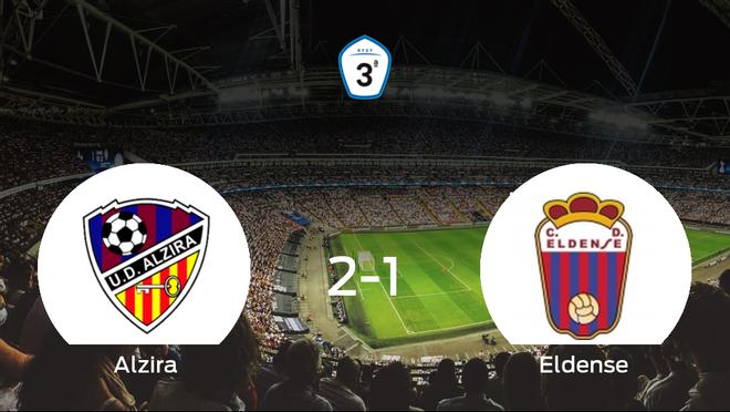Los tres puntos se quedan en casa: Alzira 2-1 Eldense