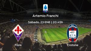 Previa del encuentro: Fiorentina - Crotone