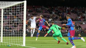 El gol de Domingos Duarte en el Barça - Granada del Camp Nou
