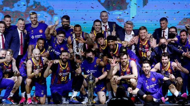El Barça, justo campeón de Copa del Rey