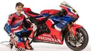 Bautista, con la nueva Honda del WSBK