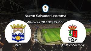 Jornada 13 de la Tercera División: previa del partido Vera - Atlético Victoria