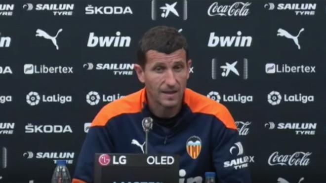 Javi Gracia, más cuestionado tras la derrota ante el Barcelona